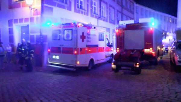 Emergencia en Ansbach, Alemania - Sputnik Mundo
