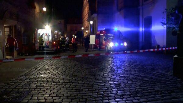 Explosión en Ansbach, Alemania - Sputnik Mundo