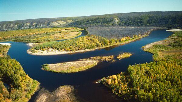 Río en Yakutia, Rusia - Sputnik Mundo