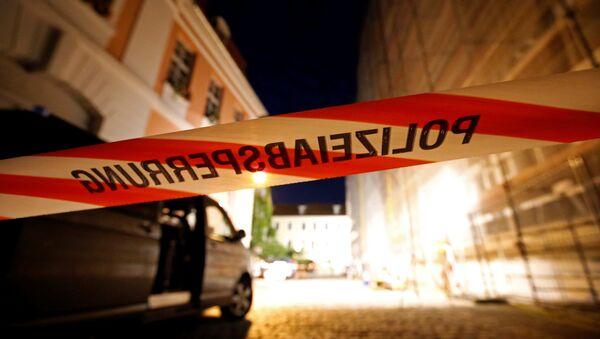 Lugar del atentado en Ansbach - Sputnik Mundo