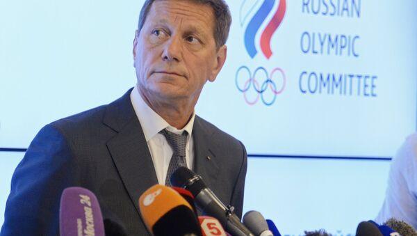 Alexandr Zhúkov, el presidente del Comité Olímpico de Rusia - Sputnik Mundo