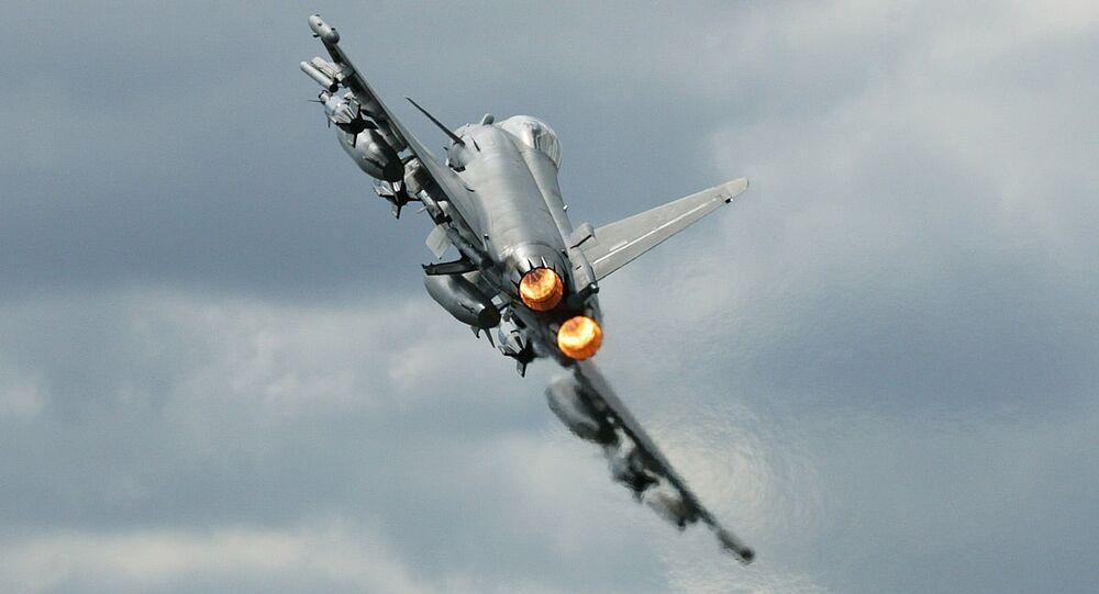 Avión de combate Eurofighter Typhoon