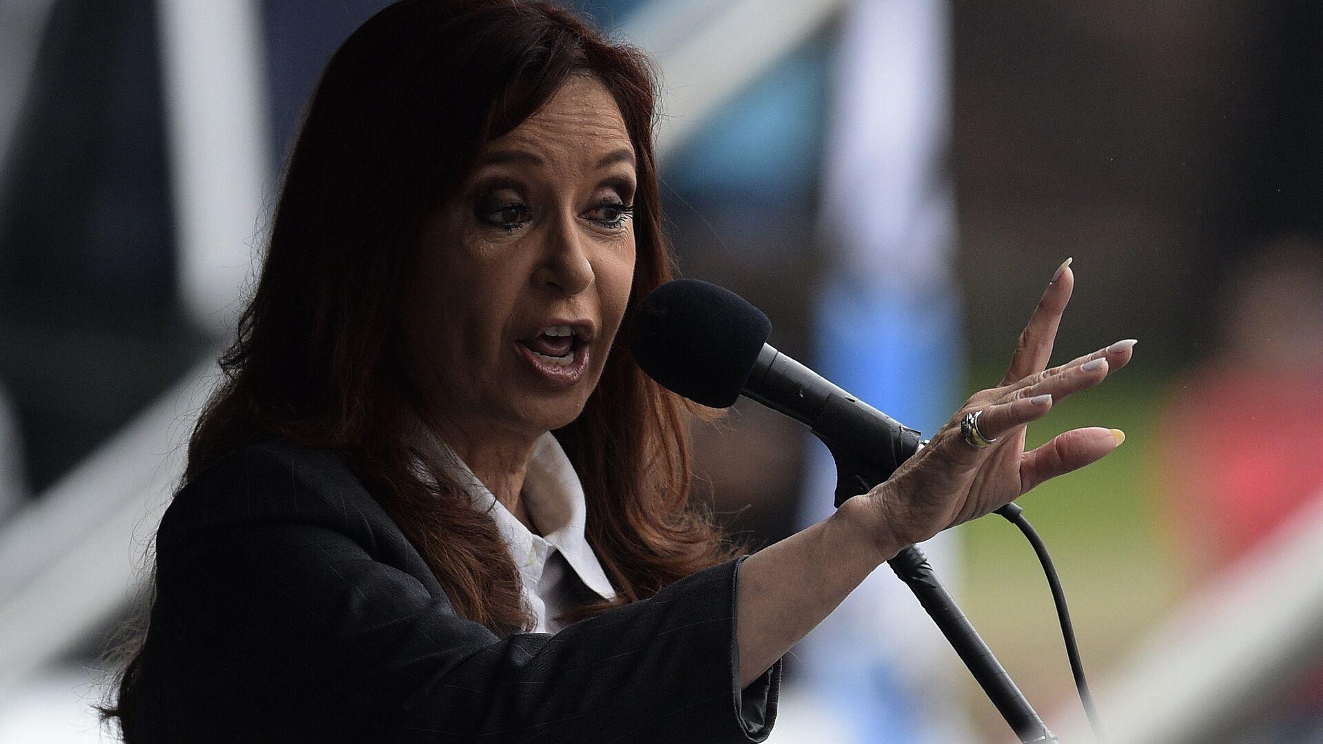 Cristina Fernández de Kirchner, expresidenta de Argentina - Sputnik Mundo, 1920, 16.07.2021