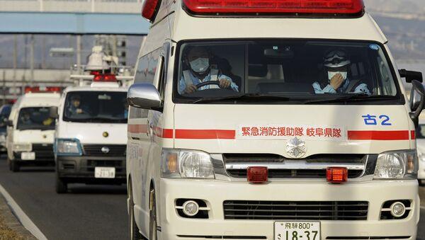 Ambulancia japonesa - Sputnik Mundo