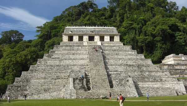 Templo de las Inscripciones de Palenque, México - Sputnik Mundo
