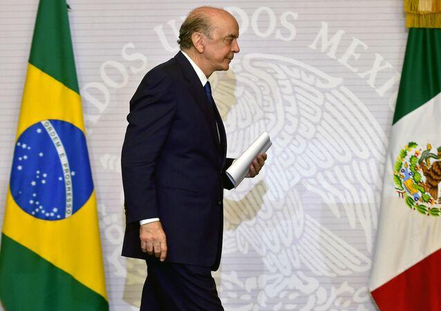 José Serra, ministro de Relaciones Exteriores de Brasil