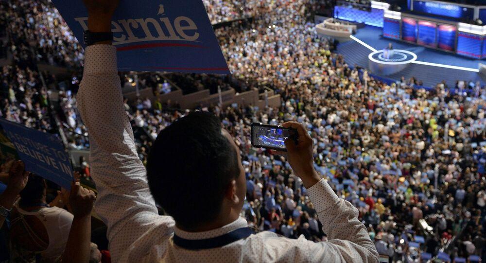 La convención del Partido Demócrata en Filadelfia