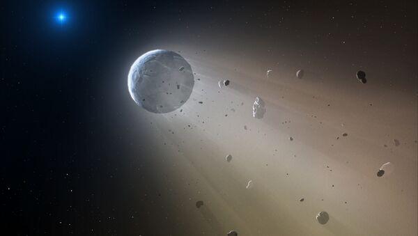 Concepción artística del asteroide - Sputnik Mundo