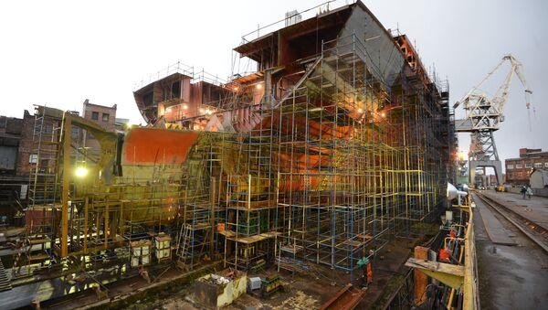 La construcción del rompehielos del proyecto 22220 - Sputnik Mundo