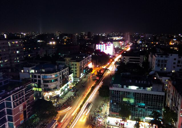 Daca, la capital de Bangladés