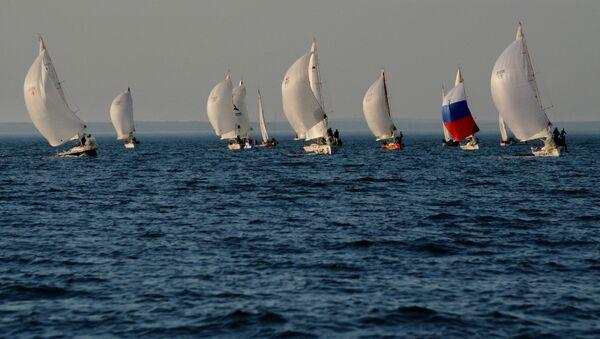 Регата Кубок Владивостока 2016 - Sputnik Mundo