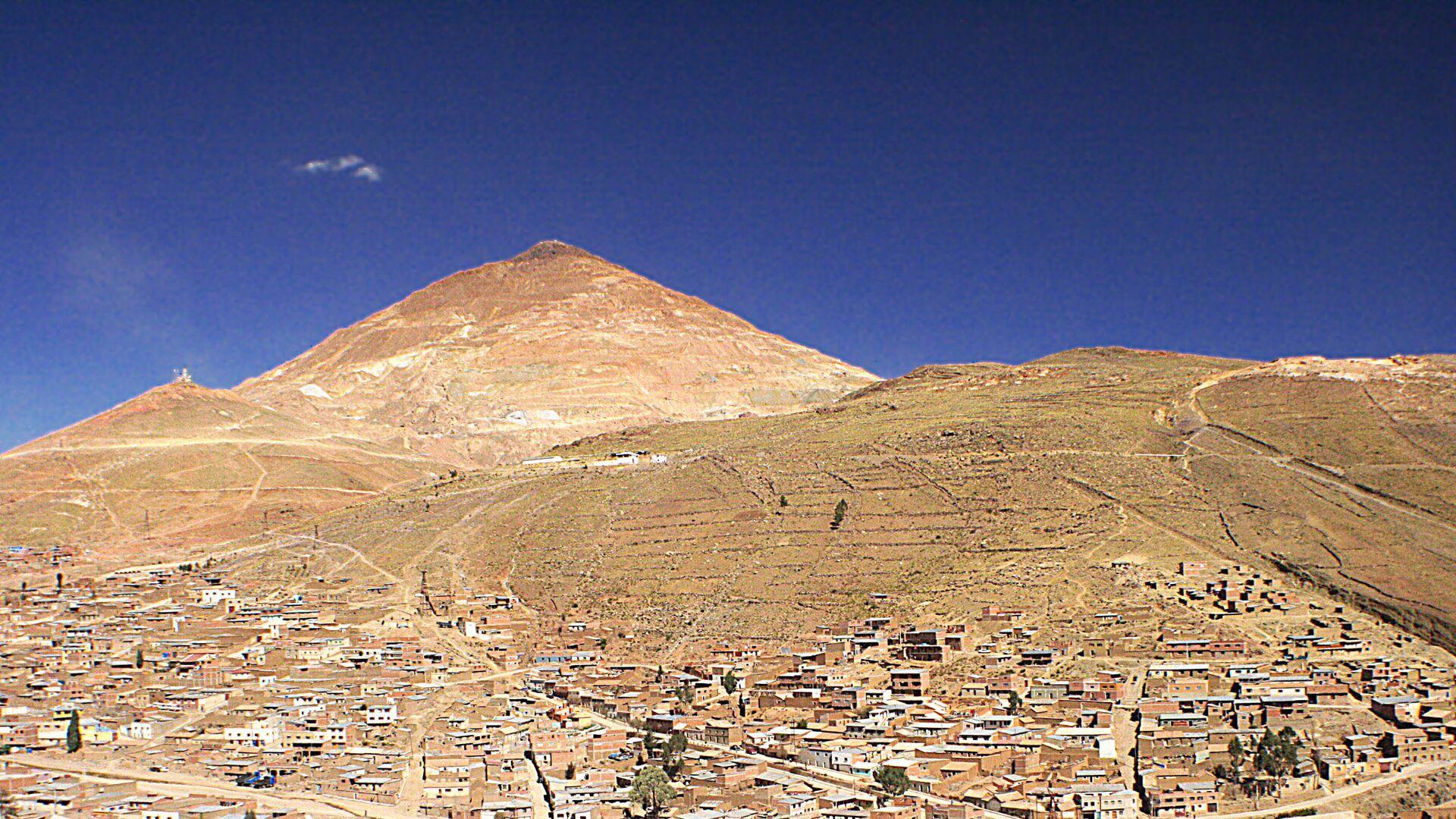 Cerro Rico de Potosí, Bolivia - Sputnik Mundo, 1920, 08.09.2021