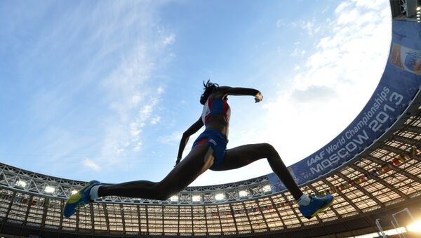 Atleta rusa (archivo) - Sputnik Mundo