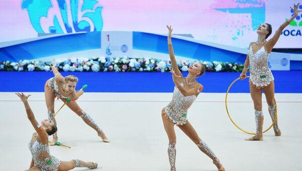 Художественная гимнастика. Этап Кубка мира. Третий день - Sputnik Mundo