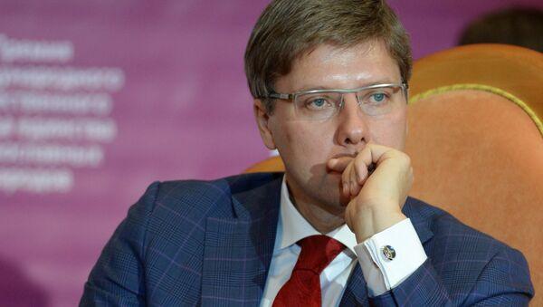 Nils Usakovs, el alcalde de la capital letona - Sputnik Mundo