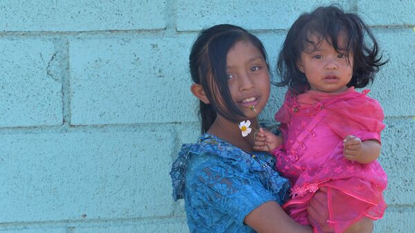 Niñas guatemaltecas - Sputnik Mundo