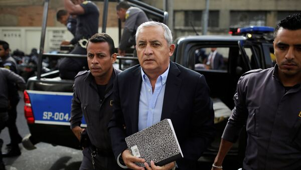 Otto Pérez Molina, expresidente de Guatemala - Sputnik Mundo