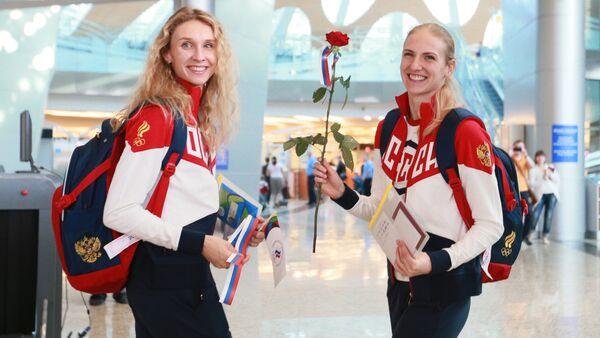 La primera delegación olímpica de Rusia parte a Río de Janeiro - Sputnik Mundo