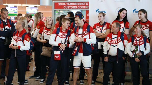 La delegación olímpica de Rusia - Sputnik Mundo