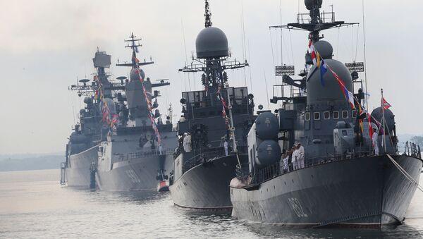 Flota rusa del Báltico (archivo) - Sputnik Mundo