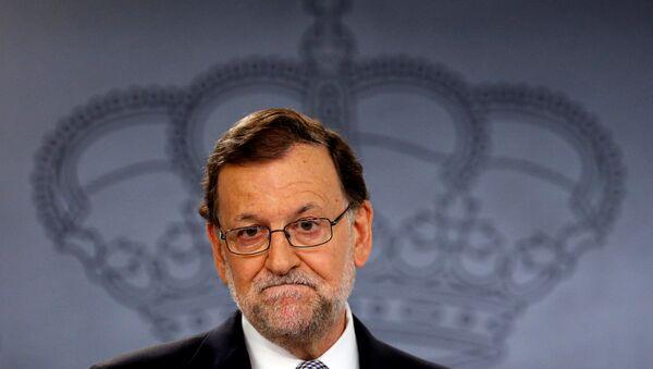 El presidente del Gobierno en funciones, Mariano Rajoy - Sputnik Mundo