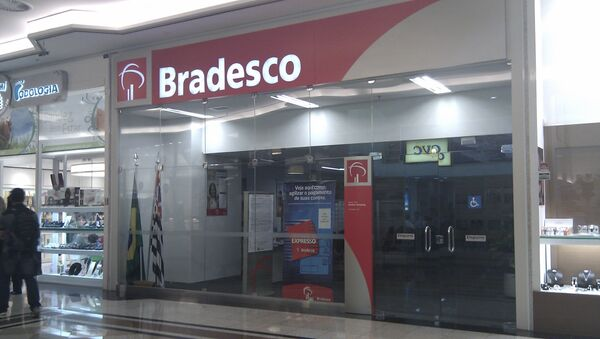 Oficina de Bradesco en São Paulo, Brasil - Sputnik Mundo