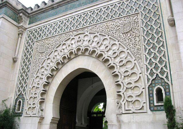 Entrada a la Gran Mezquita de París