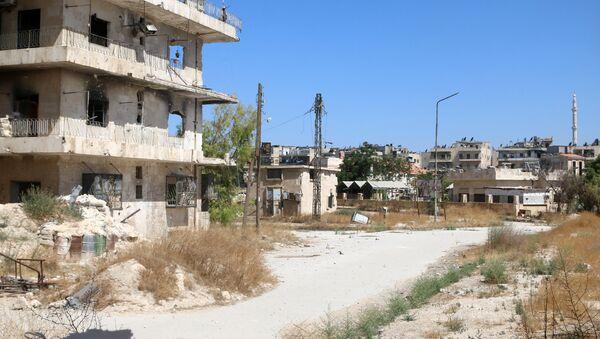 Corredor humanitario en Alepo - Sputnik Mundo