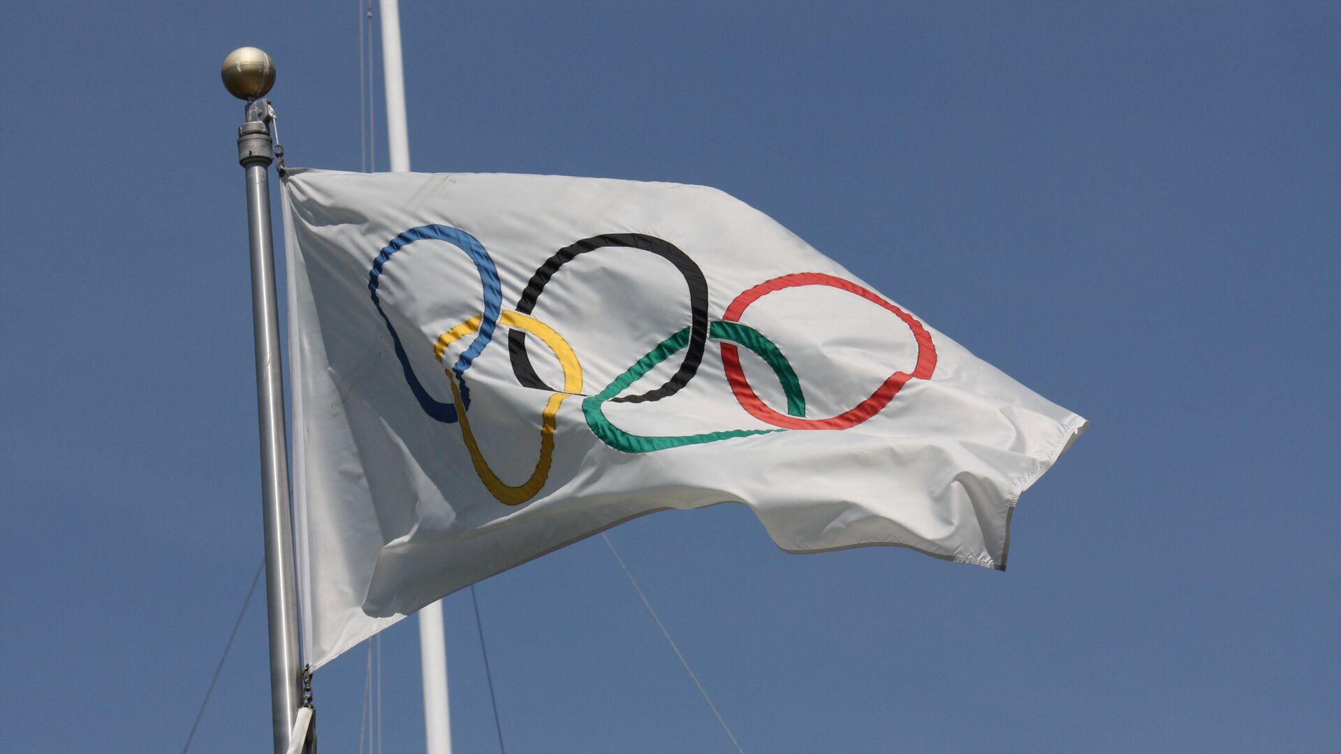 La bandera olímpica - Sputnik Mundo, 1920, 02.03.2021