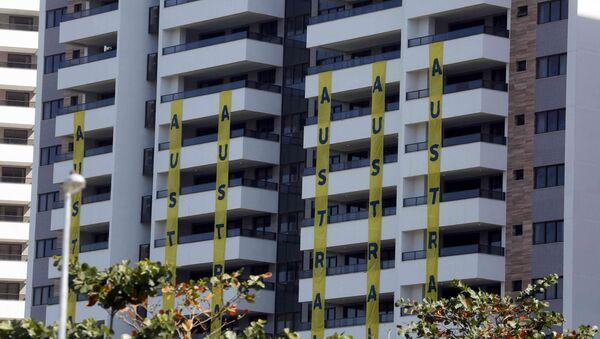 Edificio de Australia en la Villa Olímpica de Río - Sputnik Mundo