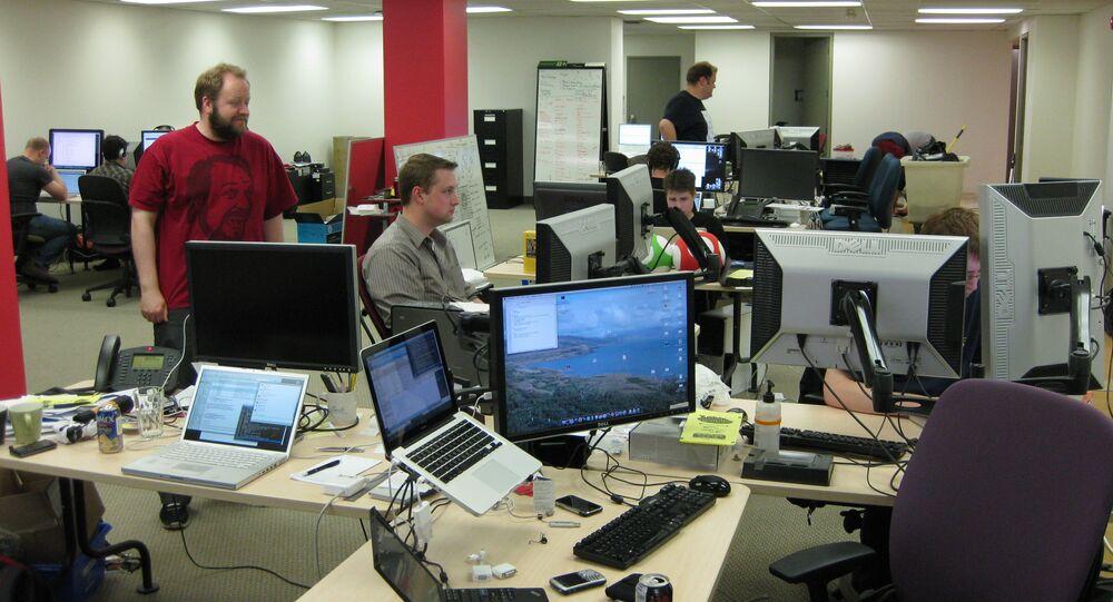 Una oficina (imagen referencial)