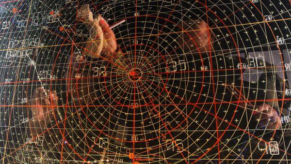 Puesto de mando para el control de ejercicios de tropas de defensa aérea - Sputnik Mundo