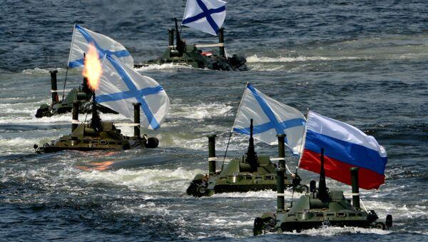Las celebraciones del Día de la Armada rusa - Sputnik Mundo