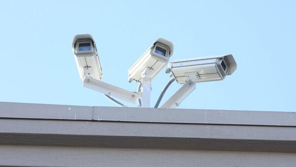 Las cámaras de seguridad (archivo) - Sputnik Mundo