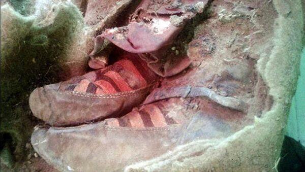 Calzado de momia de Altai - Sputnik Mundo