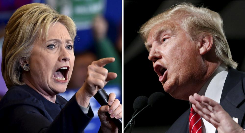 Hillary Clinton, la candidata del partido Democrático y Donald Trump, el candidato del partido Republicano