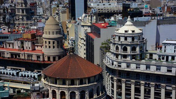 El centro finaciero de Buenos Aires, Argentina (archivo) - Sputnik Mundo