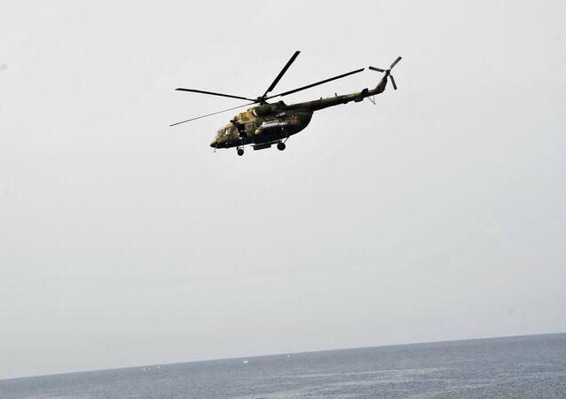 Un Mi-8 (imagen referencial)