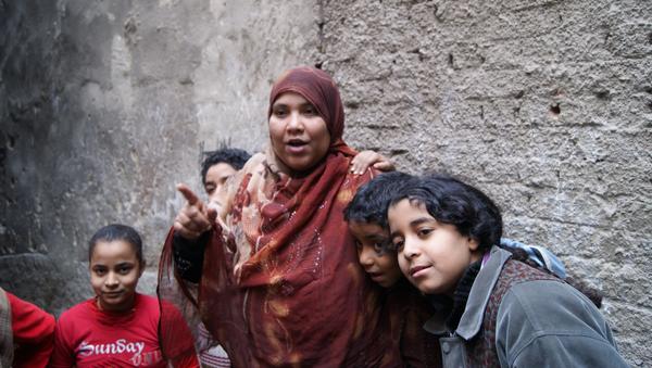 Una familia egipcia - Sputnik Mundo