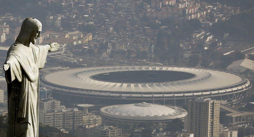 El estadio de Maracaná en Río de Janeiro, Brasil