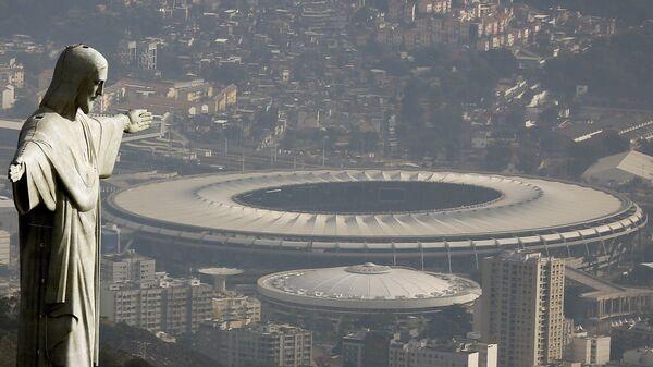 El estadio de Maracaná en Río de Janeiro, Brasil - Sputnik Mundo