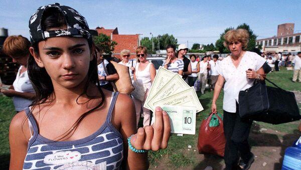 Crisis de 2001 en Argentina - Sputnik Mundo