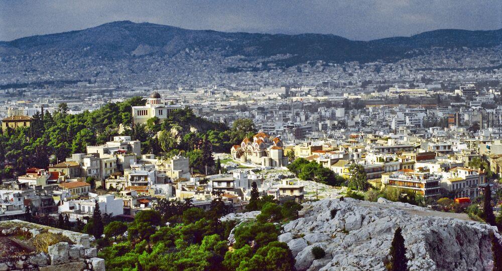 Atenas, capital de Grecia (archivo)