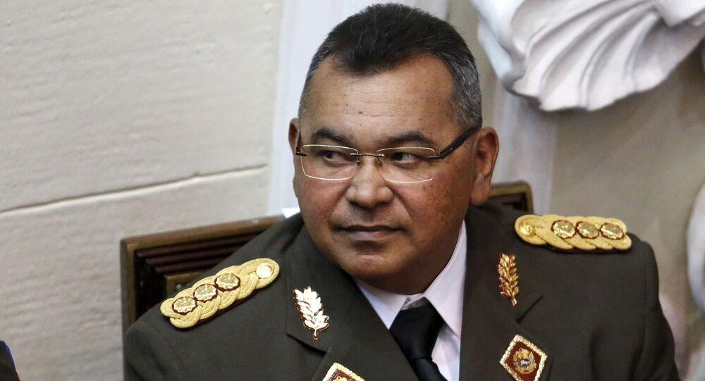 Néstor Reverol Torres, ministro de Interior, Justicia y Paz de Venezuela