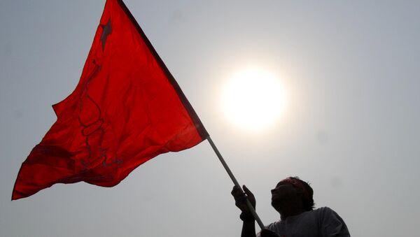 Partidiario maoísta en Nepal - Sputnik Mundo