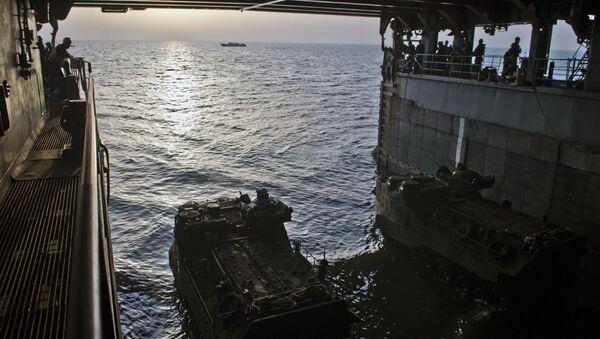 Entrenamientos en el mar de China Meridional - Sputnik Mundo