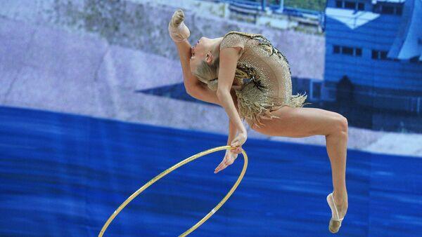 Художественная гимнастика. Этап Кубка мира. Первый день - Sputnik Mundo