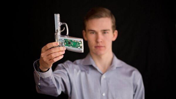 'Pistola inteligente' para prevenir la violencia por armas en EEUU - Sputnik Mundo