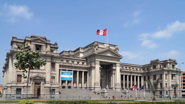 Palacio de Justicia, Lima, Perú. - Sputnik Mundo