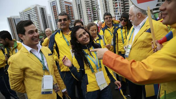 Deportistas de Colombia en Río - Sputnik Mundo